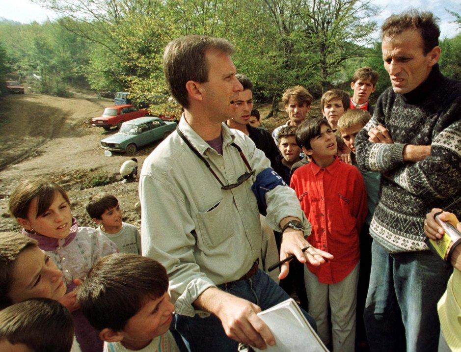 YUGOSLAVIA KOSOVO OBSERVERS